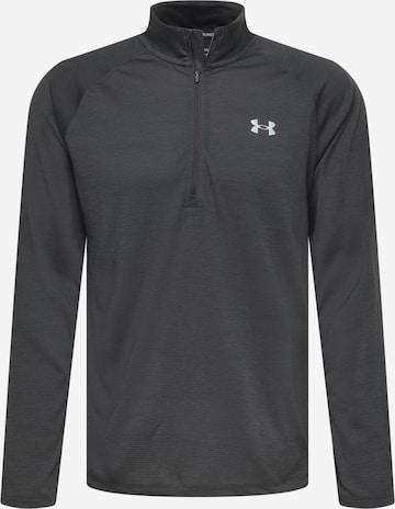 T-Shirt fonctionnel 'Streaker' UNDER ARMOUR en gris