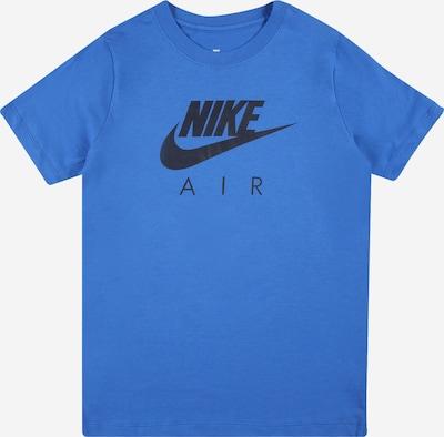 NIKE Functioneel shirt in de kleur Hemelsblauw / Zwart, Productweergave