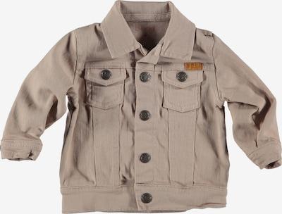 BESS Jacke in hellbeige / dunkelorange, Produktansicht