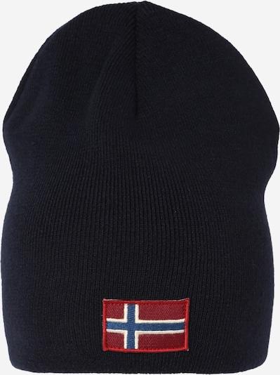 NAPAPIJRI Mütze 'FIRA 1' in navy / nachtblau / rot / weiß, Produktansicht