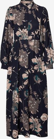 VERO MODA Robe-chemise en mélange de couleurs, Vue avec produit