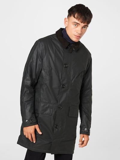 Barbour Mantel 'Wax Mac' in schwarz, Modelansicht