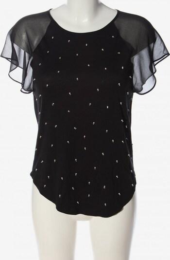 Juicy Couture Kurzarm-Bluse in XS in schwarz, Produktansicht