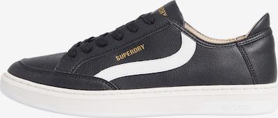 Superdry Chaussure de sport en noir / blanc, Vue avec produit