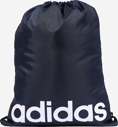 ADIDAS PERFORMANCE Športna torba iz blaga | mornarska / črna / bela barva, Prikaz izdelka