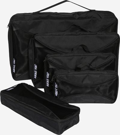 ABOUT YOU Bolsa de viaje 'Packing Cubes 8er Set' en negro, Vista del producto