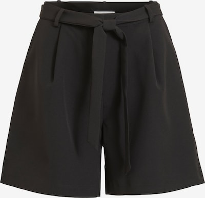Klostuotos kelnės 'ESLIE' iš VILA , spalva - juoda, Prekių apžvalga