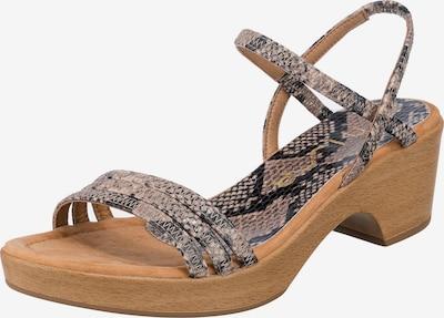 UNISA Sandale in anthrazit / greige, Produktansicht