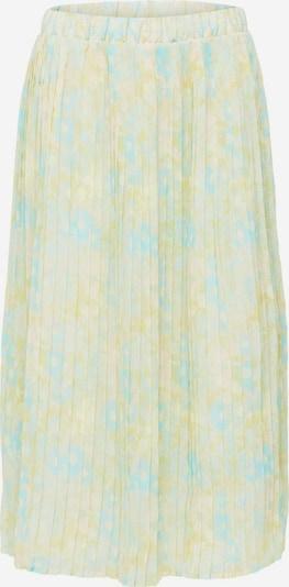 Fustă SELECTED FEMME pe albastru pastel / galben pastel, Vizualizare produs