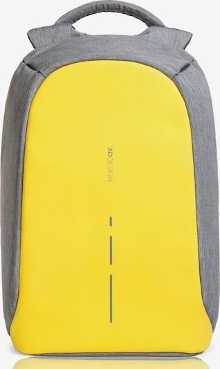XD Design Rucksack 'Bobby' in gelb / graumeliert, Produktansicht