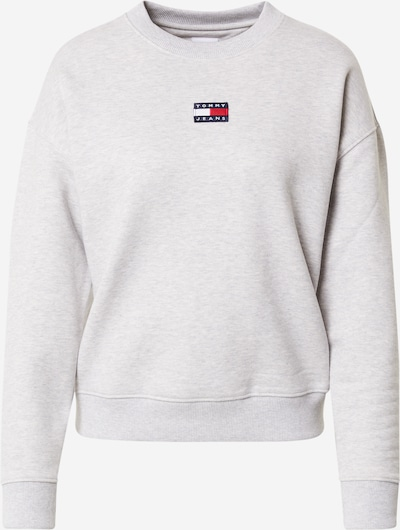 Tommy Jeans Sweatshirt in Night blue / Light grey / Fire red / White, Item view