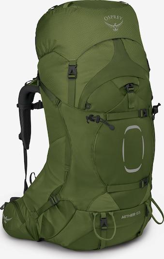 Osprey Sportrugzak 'Aether' in de kleur Groen / Zwart, Productweergave
