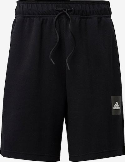 ADIDAS PERFORMANCE Shorts in schwarz: Frontalansicht
