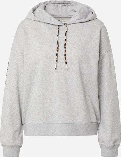 OUI Sportisks džemperis, krāsa - brūns / pelēks / melns, Preces skats
