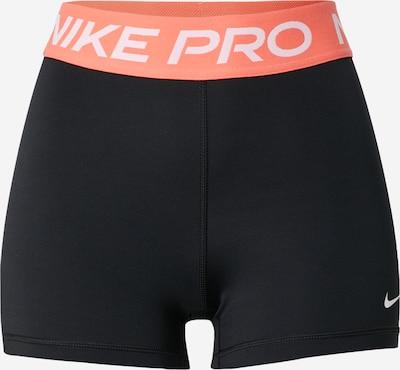 NIKE Sporthose in koralle / schwarz / weiß, Produktansicht