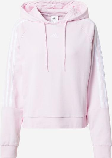 ADIDAS PERFORMANCE Sweat de sport en rose / blanc, Vue avec produit