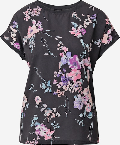 b.young T-shirt en menthe / violet / lavande / rose / noir, Vue avec produit