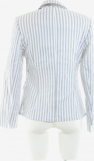 Basler Long-Blazer in S in hellgrau / weiß, Produktansicht