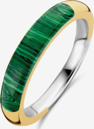 Ti Sento Milano Ring mit Malachit in gold / grün / silber, Produktansicht