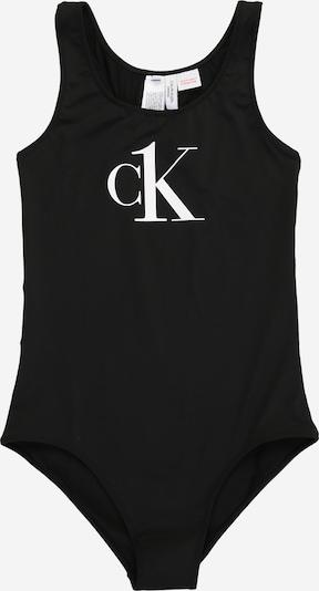 Calvin Klein Swimwear Uimapuku värissä musta / valkoinen, Tuotenäkymä
