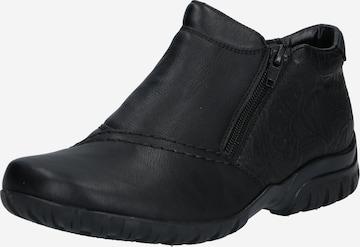 RIEKER Ankle Boots in Schwarz
