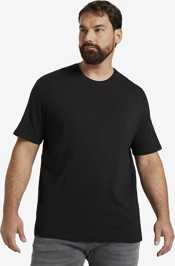TOM TAILOR Men Plus T-Shirt in schwarz, Produktansicht