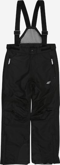 4F Skihose in schwarz / weiß, Produktansicht