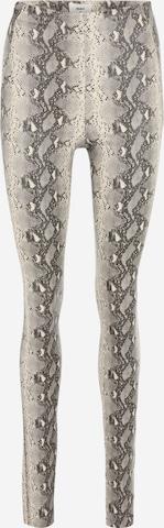 OBJECT Tall Leggings 'BELLE' i grå