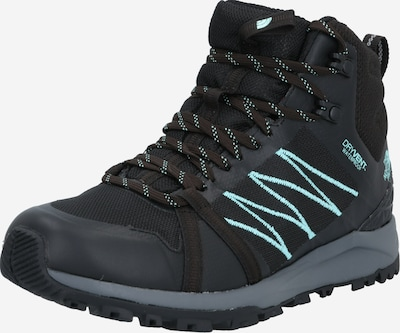 THE NORTH FACE Trekkingschuh 'W Litewave Fastpack II Mid WP' in neonblau / schwarz, Produktansicht