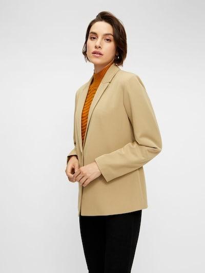 Y.A.S Blazer in beige, Modelansicht