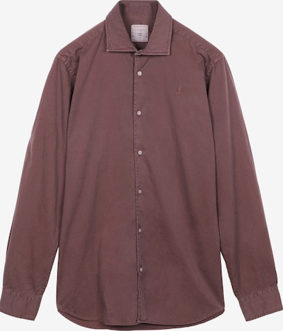 Scalpers Hemd in burgunder, Produktansicht