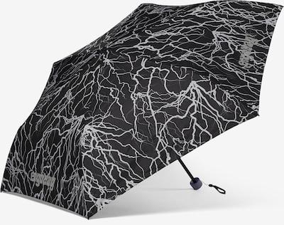 ergobag Regenschirm in grau / schwarz, Produktansicht
