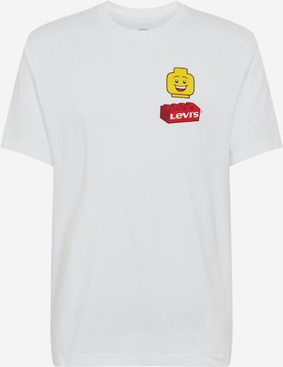 LEVI'S Tričko - žlutá / červená / bílá, Produkt