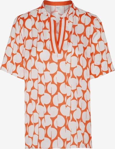 ETERNA Bluse in orange / weiß, Produktansicht