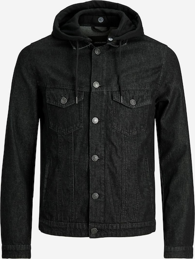 JACK & JONES Tussenjas 'Alvin' in de kleur Zwart, Productweergave