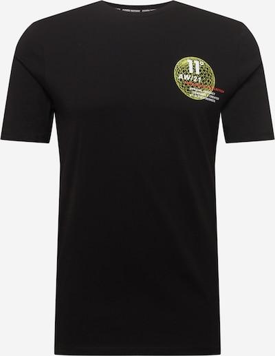11 Degrees T-Shirt in hellgrün / rot / schwarz / weiß, Produktansicht