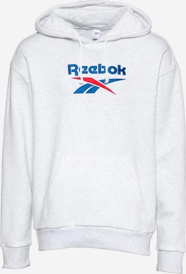 Reebok Classic Bluzka sportowa w kolorze niebieski / czerwony / nakrapiany białym: Widok z przodu