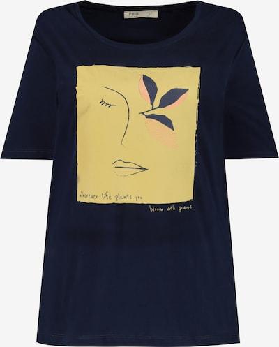 Ulla Popken Tričko - noční modrá / žlutá / růžová / černá, Produkt