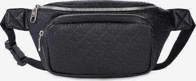 Calvin Klein Jeans Torbica za okrog pasu | črna barva: Frontalni pogled
