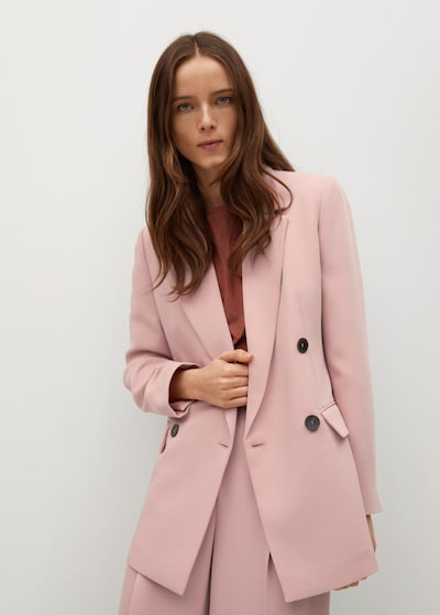 Sacou MANGO pe roz deschis, Vizualizare model