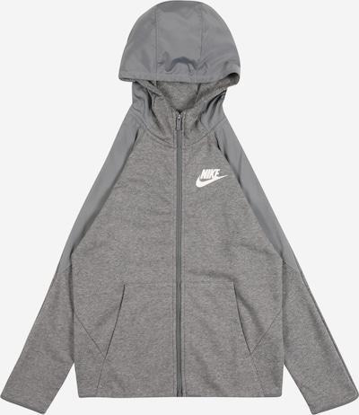 Nike Sportswear Sweatjacke in grau, Produktansicht