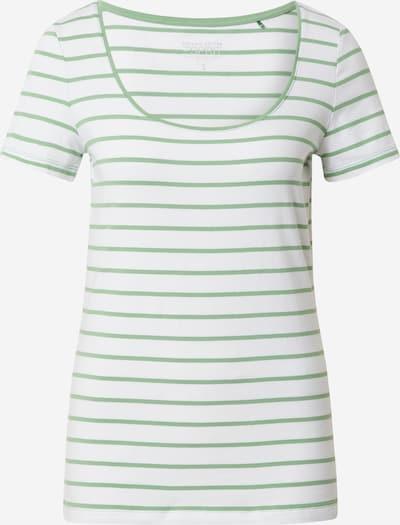 ESPRIT Tričko 'Dancer' - zelená / biela, Produkt
