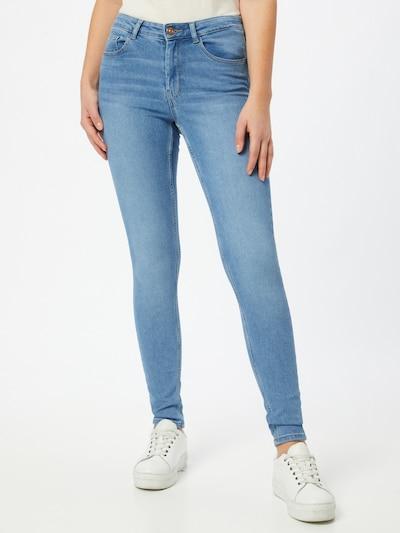 PIECES Jeans in de kleur Blauw denim, Modelweergave