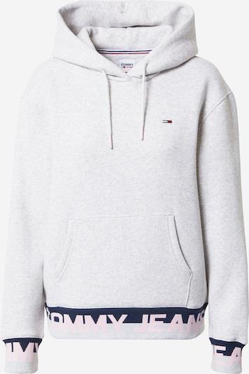 Tommy Jeans Sweatshirt i mørkeblå / lysegrå / pastelpink / rødmeleret, Produktvisning