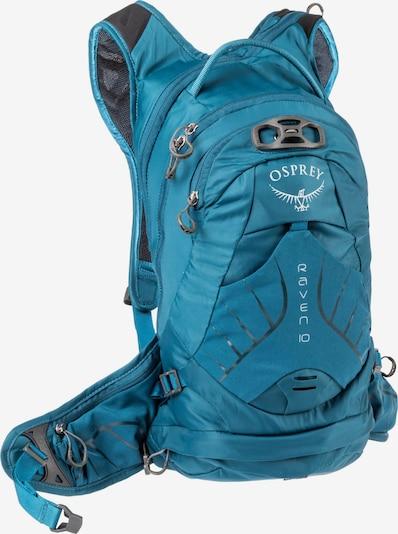 Osprey Fahrradrucksack 'Raven 10' in türkis, Produktansicht