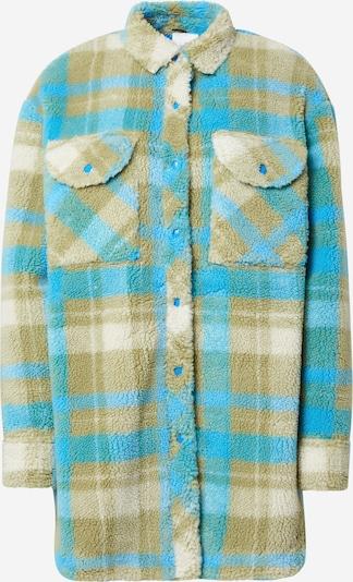 REPLAY Jacke in beige / kitt / türkis / hellblau / schilf, Produktansicht
