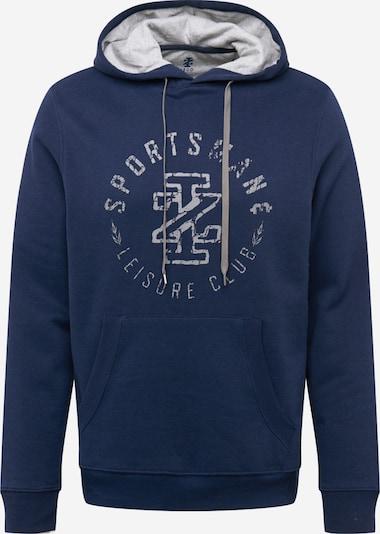 IZOD Sweat-shirt en bleu foncé / gris clair, Vue avec produit