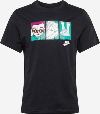 Nike Sportswear Tričko - tyrkysová / cyclam / mix barev / černá / bílá, Produkt
