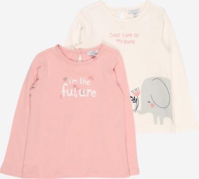 OVS Shirt in grau / pink / altrosa / schwarz / weiß, Produktansicht