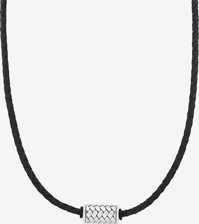 s.Oliver Junior Kette in schwarz / silber, Produktansicht